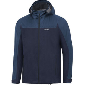 GORE WEAR R3 Gore-Tex Active Veste À Capuche Homme, orbit blue/deep water blue